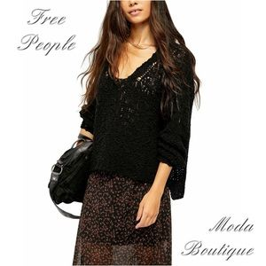 Free People Sunday Shore Pullover